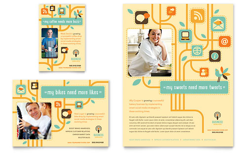 Business Services - Flyer & Ad Template Design