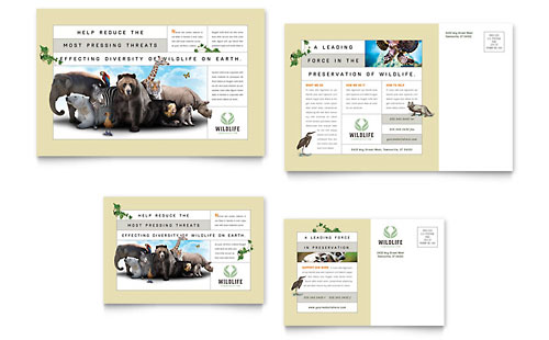 Animals & Pet Care Marketing - Brochures, Flyers, Postcards