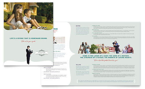 Realtor & Realty Agency - Brochure Template Design