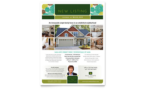 real estate newsletter templates free .