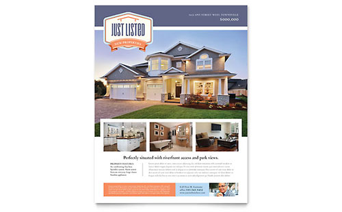 Real Estate Marketing Brochures Flyers Postcards – Real Estate Marketing Postcard Templates