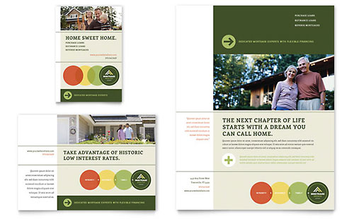 Mortgage Broker Flyer & Ad Template Design