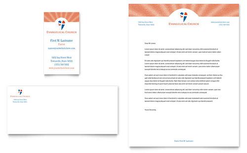 Evangelical Church Brochure Template Design