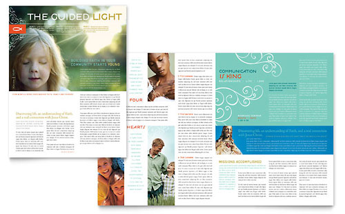 Christian Church - Newsletter Template Design