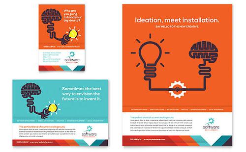 Ad Design Templates. education training print ads templates ...