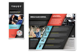Auto Mechanic - Brochure Design Template