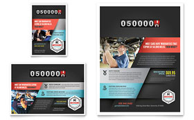 Auto Mechanic - Flyer & Ad Design Template
