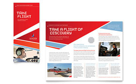 Automotive & Transportation Business Marketing - Brochure Template
