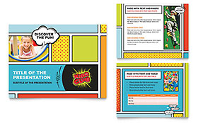 Kids Club - PowerPoint Presentation Design Template