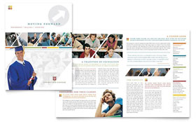 College & University - Brochure Template