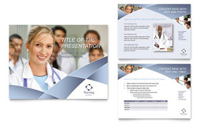 Nursing School Hospital - PowerPoint Presentation Design Template