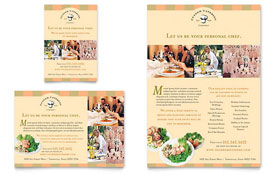 Catering Company - Flyer & Ad Template