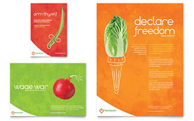 Nutritionist & Dietitian - Flyer & Ad Design Template