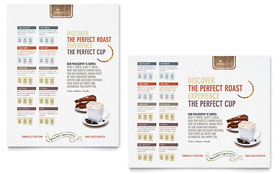 Coffee Shop - Poster Template