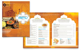 Restaurant Menu - CorelDRAW Template