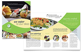 Food Catering - Brochure Design Template