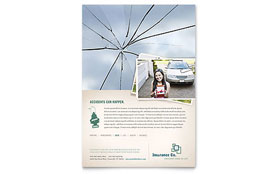 Life Insurance Company - Flyer Template