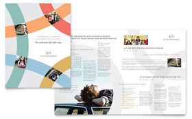 Car Insurance Company - Brochure Design Template