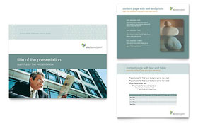 Wealth Management Services - PowerPoint Presentation Design Template