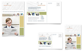 Investment Advisor - Postcard Template