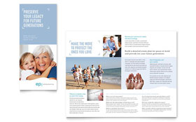 Estate Planning - Tri Fold Brochure Design Template