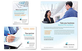 Accounting Firm - Flyer & Ad Design Template