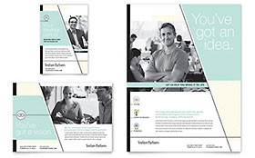 Venture Capital Firm - Flyer & Ad Design Template