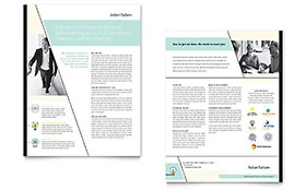 Venture Capital Firm - Datasheet Design Template