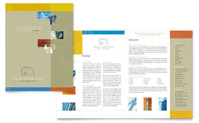 Architectural Firm - Brochure Template