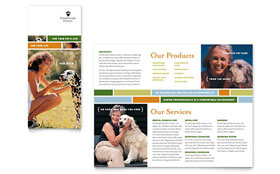 Veterinarian Clinic - Brochure Design Template