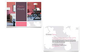 Interior Designer - Announcement Template