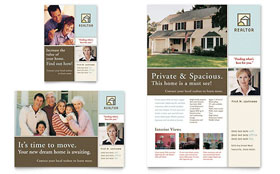 House for Sale Real Estate - Flyer & Ad Design Template