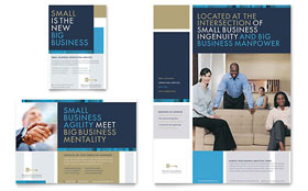 Small Business Consulting - Flyer & Ad Design Template