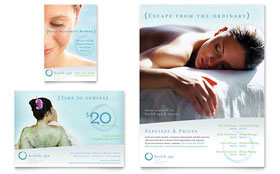 Day Spa & Resort - Flyer & Ad Template