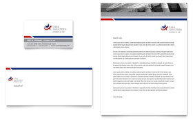 Legal & Government Services - Business Card & Letterhead Design Template