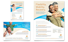 Physical Therapist - Flyer & Ad Design Template