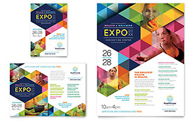 Health Fair - Flyer & Ad Design Template