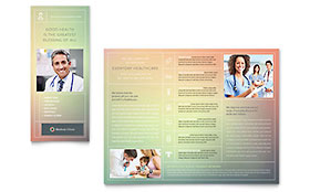 Medical & Health Care Business Marketing - Brochure Template
