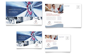 Marketing Consulting Group - Postcard Template