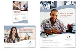 Marketing Consulting Group - Flyer & Ad Template