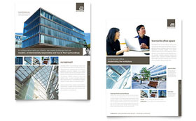 Architect - Datasheet Design Template