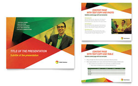 Public Relations Company - PowerPoint Presentation Template