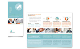 Management Consulting - Tri Fold Brochure Template