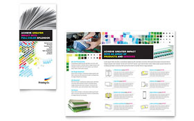 Printing Company - Brochure Design Template