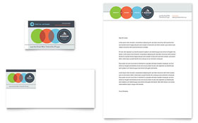 Business Analyst - Business Card & Letterhead Design Template