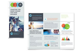 Business Analyst - Tri Fold Brochure Design Template