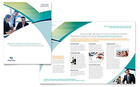 Business Training - Brochure Design Template