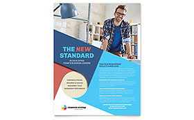 Corporate Strategy - Flyer Design Template