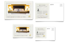 Pet Hotel & Spa - Postcard Template