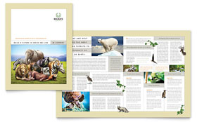 Pets & Animals Business Marketing - Brochure Template